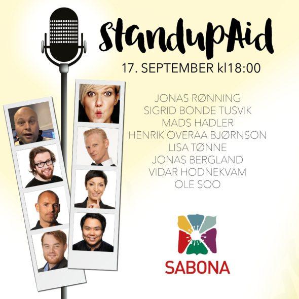 Standup Aid2018