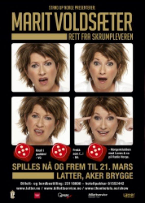 marit voldsæter-latter-aker-brygge-humor-stand-up