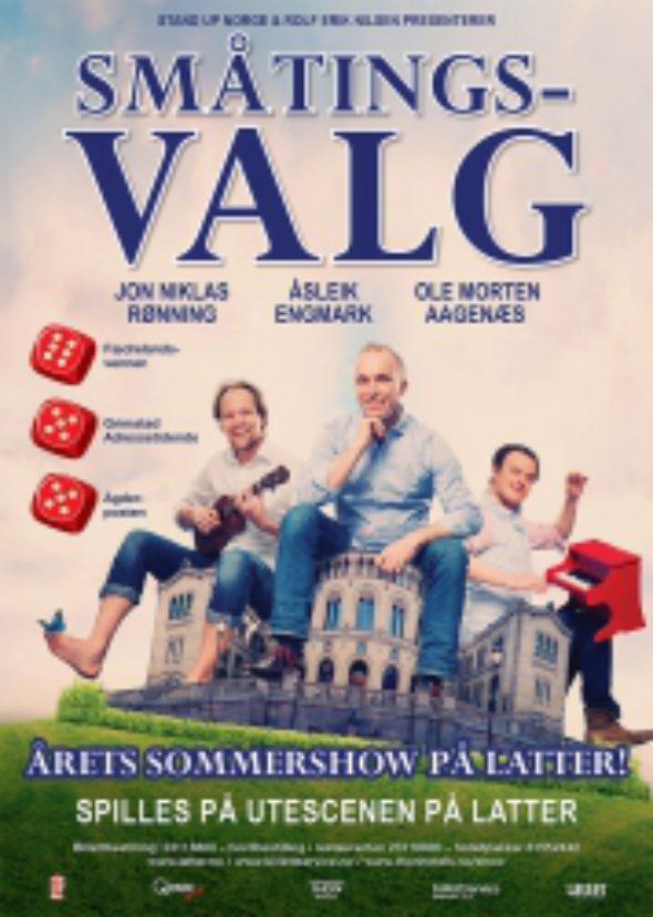 småtingsvalg sommerlatter2014-latter-aker-brygge-humor-stand-up
